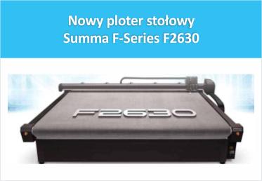 Nowy ploter stołowy Summa F-Series F2630