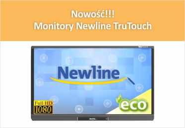 Nowość!!! Monitory Newline TruTouch