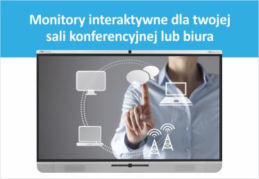 Monitory interaktywne dla twojej sali konferencyjnej lub biura
