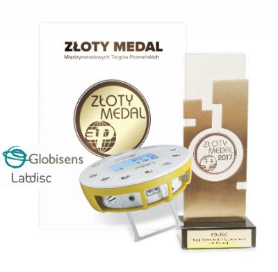 Złoty medal dla laboratorium Globisens!